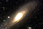 Image of the Andromeda Galaxy M31
